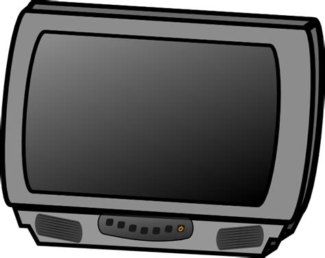Small Flat Panel Lcd Television Clip Art At Clker.com