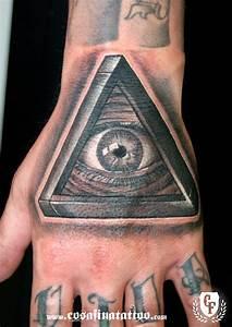 Illuminati Hand Triangle Tattoo | www.imgkid.com - The ...