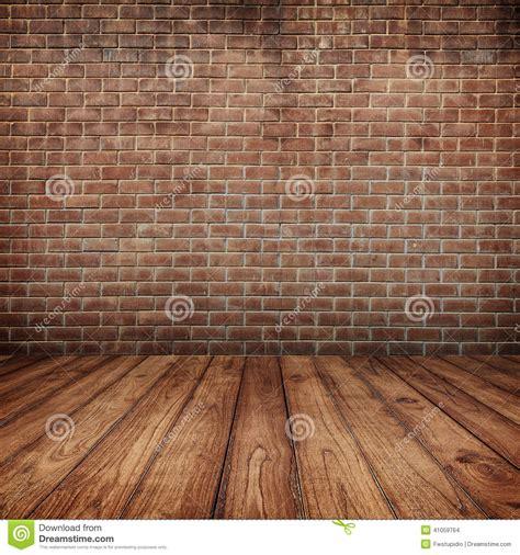 concrete brick walls  wood floor  text
