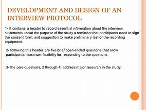 collecting qualitative data With qualitative research interview protocol template