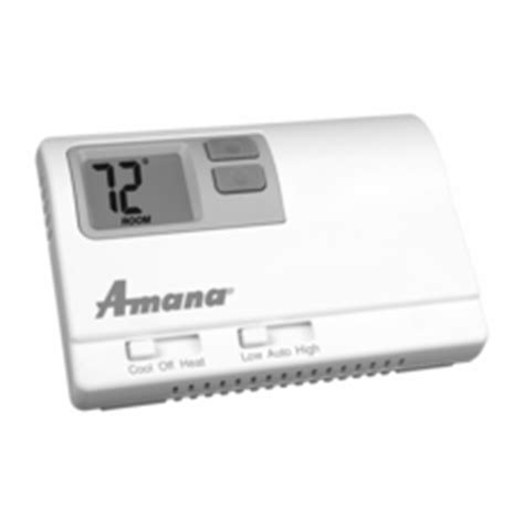 amana ds01e digistat remote wireless thermostat cool running hospitality supply llc
