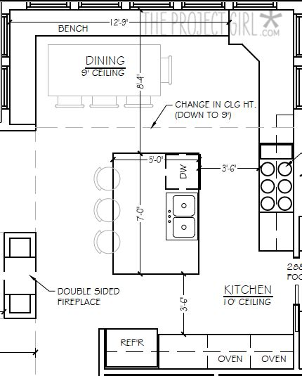 kitchen floor plans island project house kitchen inspiration style guide 4808