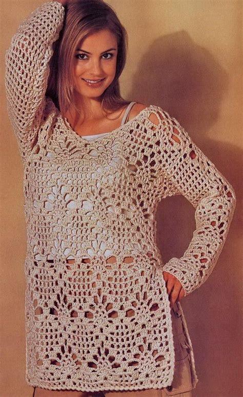 easy crochet sweater crochet sweaters crochet crochet tunic