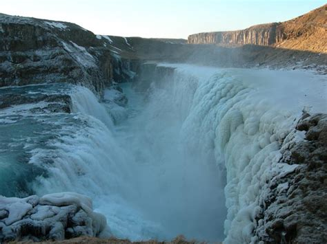 Stunning Gullfoss (golden Falls)  Iceland  World For Travel