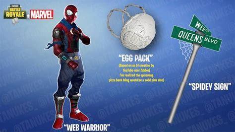 fortnite skin concept     spider man