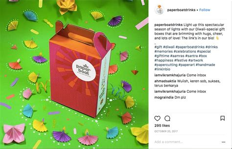 Paper Boat Drinks Gift Pack by Paper Boat Drinks Instagram Marketing Promotions