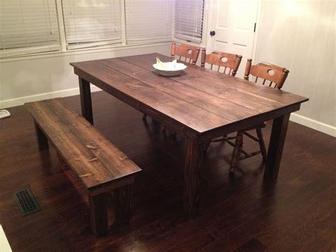 custom farmhouse dining table  gypsum valley