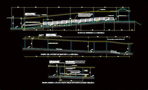 ramp dwg block  autocad designs cad