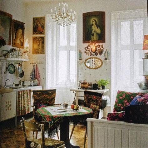 fashioned kitchen cabinets boho style interior inspiration 3631
