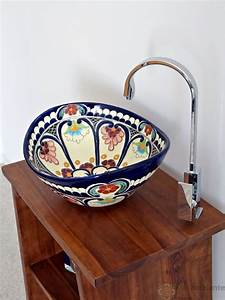 Waschbecken Für Draußen : farbenfreudige waschbecken aus mexiko f r ein originelles ~ Michelbontemps.com Haus und Dekorationen