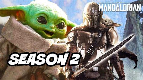 Star Wars The Mandalorian Season 2 Baby Yoda Announcement ...