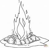 Coloring Pages Campfire Fire Camping Printable �עומר לג יצירה Google Printables Camp Il Lag Drawing Dot Log Stencils Scout Template sketch template