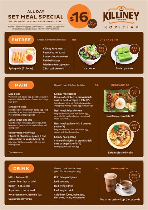 Our Best Menus by Killiney Kopitiam Australia Best Value Asian Food In