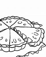 Pie Coloring Apple Pages Cake Pumpkin Food Pies Cliparts Colouring Fall Kidsdrawing Printable Getcolorings sketch template