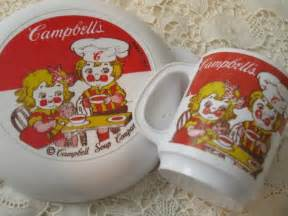 Vintage Campbell Soup Collectibles
