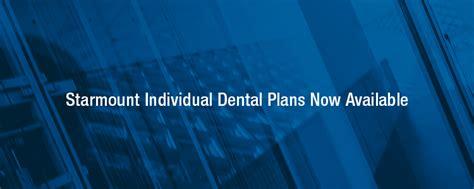 starmount individual dental plans