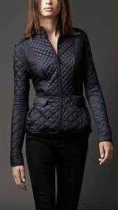 Cool Leather Jacket Designs Women S Clothing Burberry Jackets Fashion Quilted Jacket