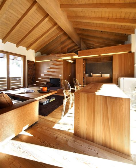 modern wood house  studio fanetti decoholic