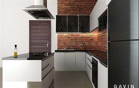 design kitchen set minimalis design kitchen set minimalis dengan island hpl glossy di 6577