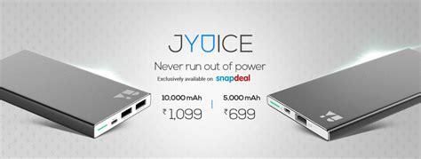 slim xiaomi redmi 5a yu jyuice 5000mah and 10000mah slim power banks launched
