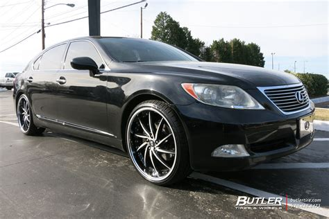 lexus rims 22 lexus ls460 with 22in lexani artemis wheels exclusively