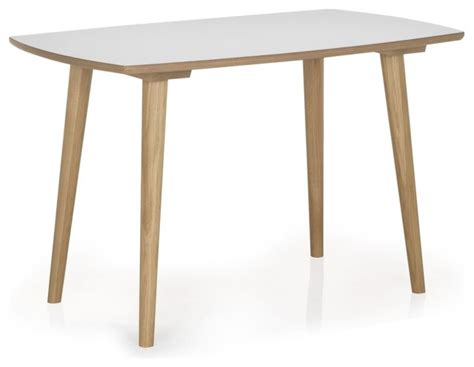 table de cuisine alinea skandy table de cuisine l120cm scandinave table à