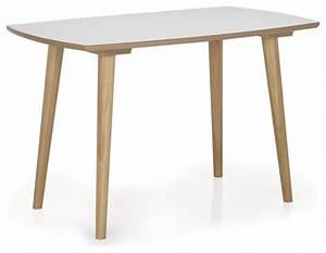 Table Cuisine Scandinave : skandy table de cuisine l120cm scandinave table manger par alin a mobilier d co ~ Melissatoandfro.com Idées de Décoration
