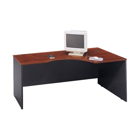 bush hansen cherry desk bush c series executive modular desk hansen cherry and