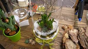 Frühlingsdeko Im Glas : diy winterhafte fr hlingsdeko im glas mit hyazinthen und lichterkette youtube ~ Orissabook.com Haus und Dekorationen