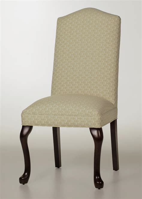 camel back dining chair with legs factory direct