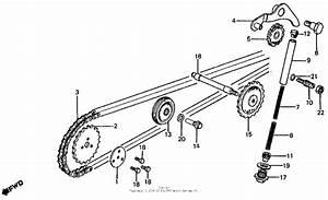 Cam Chain Tensioner For 1979 Honda Z50