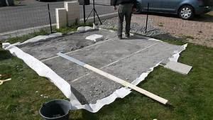 Dalle Pour Terrasse Sur Plot : terrasse dalles terrasse beton jardin accueil design et ~ Premium-room.com Idées de Décoration