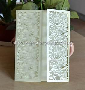 fancy wedding invitation card wholesale metallic gold With laser cut wedding invitations wholesale india