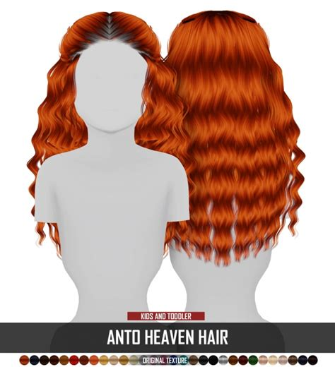 Anto Heaven Hair Kids And Toddler Version By Thiago