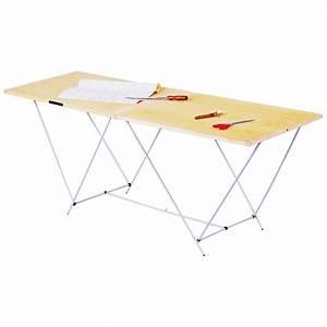 Table à tapisser pliante OCAI, 60 cm x 2 m Leroy Merlin