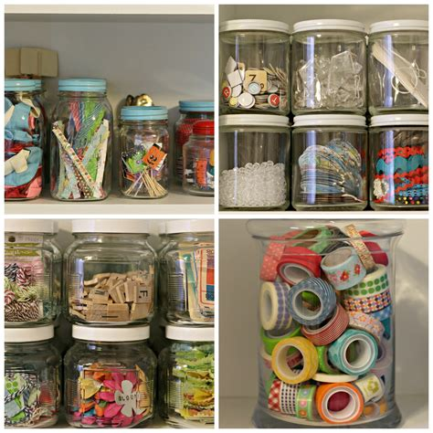 Craft Supplies Storage  Organize And Decorate Everything