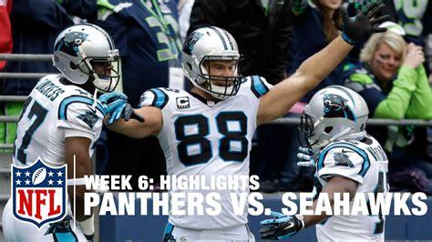 panthers game winning drive   seahawks week