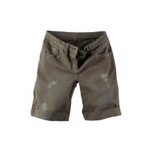 designer kleidung verkaufen designer damen shorts bermudas baumwolle ajc by arizona p56m 38 khaki ebay