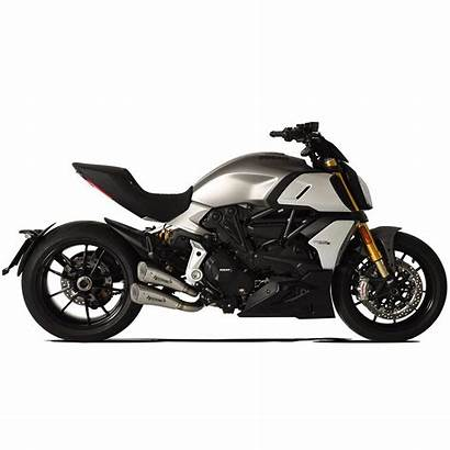 Diavel Ducati 1260 Exhaust Hp Silencers Corse