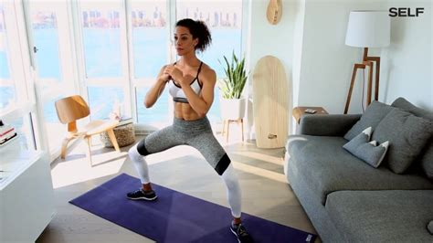 Watch A 6 Move No Equipment Workout You Can Do At Home