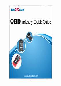 The Best Obd Industry Quick Guide Book