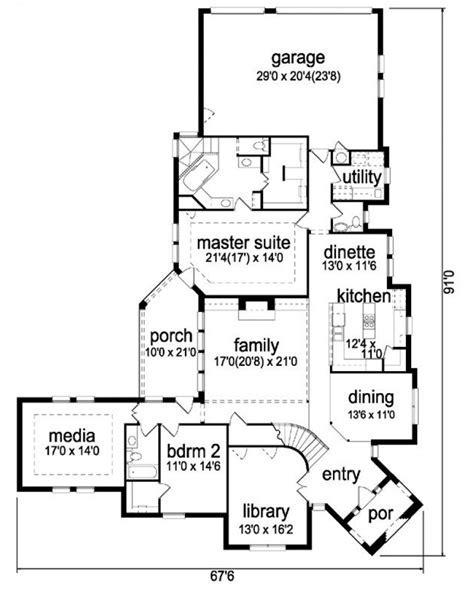 AmazingPlans.com House Plan #pd3469 44   European   French