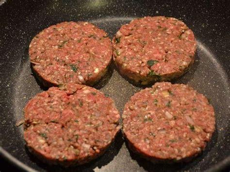 cuisiner steak haché recettes de steak haché de mes idées menus