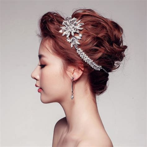 bridal hair style picture 47 best headband tiare diademe mariage images on 8418