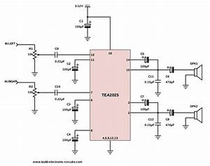 Wiring Diagram Of Audio Amplifier