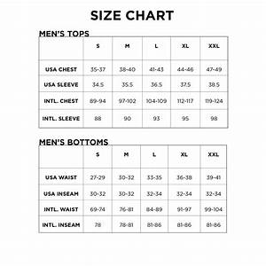 Men U0026 39 S And Youth Size Charts