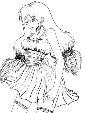 Ciorry Chan by Gabriela Gogonea coloring page Free