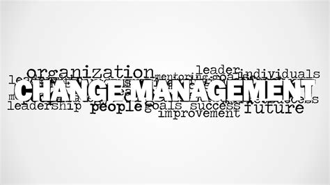 Change Management Word Cloud Picture For Powerpoint
