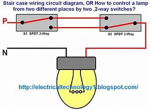 2 Way Wiring Switch Diagram