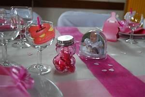 Deco Table Bapteme Fille : decoration bapteme fille table ~ Preciouscoupons.com Idées de Décoration